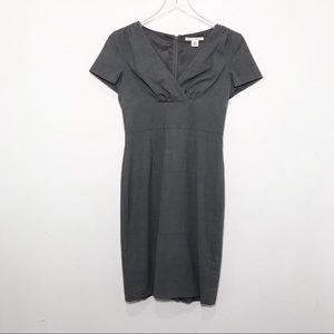 Banana Republic Wool Sheath Cap Sleeve Dress